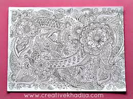 doodle drawings for sale coloring book style henna designs inspired drawings doodles