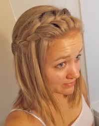 ideas about easy braids for medium length hair curly hairstyles