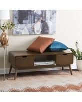 slash prices on belham living anson mid century modern entryway bench