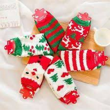 fuzzy christmas socks fuzzy christmas socks ebay