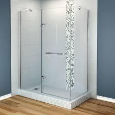 Frame Shower Door Maax Shower Doors Showers The Home Depot