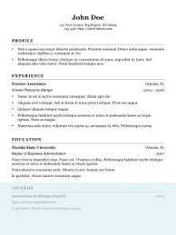 Simple Resume Sample Format by Examples Of Resumes Best Resume For Your Job Search Livecareer
