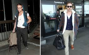 Celebrity Clothing For Men Airport Style Celebrity Do U0027s And Don U0027ts Travel Leisure