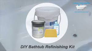 Bathtub Refinishing Liquid Tub Liners Bathtub Refinishing Kit Youtube