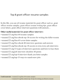 Naukrigulf Resume Services Grant Writer Job Description Resume
