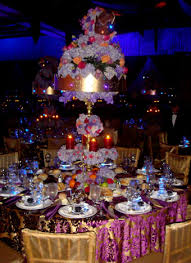 crown centerpieces exquisite events created towering three tier centerpieces with