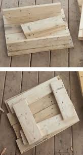 How To Make End Tables Out Of Pallets he grabbed an old pallet and made this in under 2 hours incredible