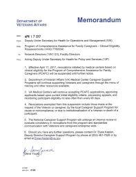 sample of resume for caregiver cuts to caregivers halted as va reviews aid program local download pdf document april 17 va memorandum