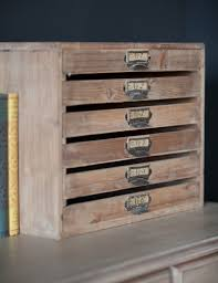 vintage style filing tray at rose u0026 grey storage solutions