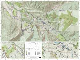 Colorado Trail Maps by Greeninfo Network Information And Mapping In The Public Interest