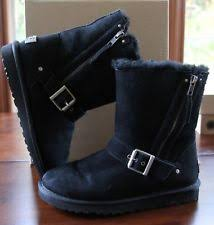womens ugg blaise boots ugg australia s suede biker boots ebay