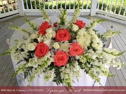 Wedding Flowers M Amp S Coral Wedding Bouquet Buffalo Wedding U0026 Event Flowers By