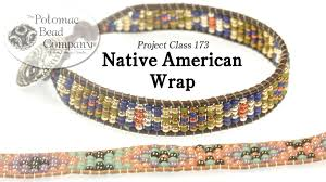bracelet tutorials youtube images Native american style wrap bracelet jpg