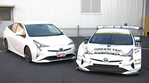 toyota hybrid cars new toyota prius gt300 race car is a v8 hybrid