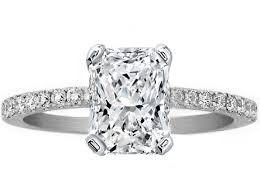 radiant cut engagement ring engagement ring radiant cut diamond engagement ring pave