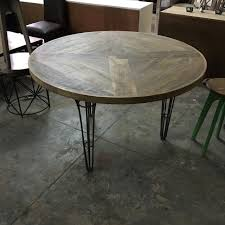 Industrial Dining Room Tables Alluring Industrial Dining Table Nadeau Paramus In