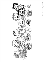 charlie brown beautiful peanuts coloring pages coloring