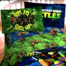 Ninja Turtle Comforter Set Imported Blankets U003e Disney Comforter Sets U003e Twin Tmnt 4pc Bedding