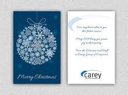 strikingly corporate christmas cards australia astounding card