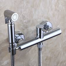 Online Get Cheap German Faucet Aliexpress Com Alibaba Group With And Cold Faucet Valve 150 Cm Stainless Steel Hose Muslim