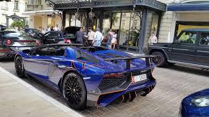 Blue Lamborghini Aventador - lamborghini aventador superveloce roadster from uae the saudi