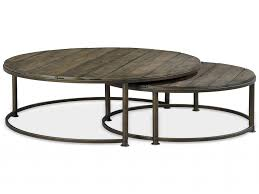 3 piece nesting tables round nesting coffee table luxury coffee table marvelous metal