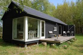 plans for a small cabin the længehus longhouse is a small modular home from denmark