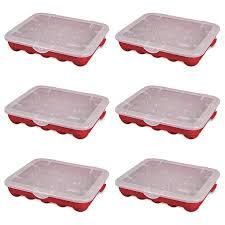 sterilite 20 compartment 3 ornament storage with lid 6