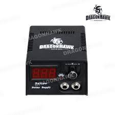 dragonhawk lcd digital tattoo power supply kit ce certification
