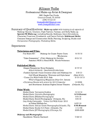 sample resume for sephora gallery creawizard com