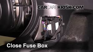 interior fuse box location 2014 2016 mazda 3 2014 mazda 3