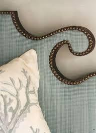 Fabric Nailhead Headboard Wonderful Upholstered Headboard U0026 Lovely Linens Bedrooms