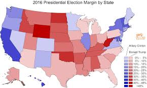 Map Election by Daily Kos Elections U0027 Median District Scores Show How Strong The