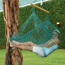 chair hammocks with wood bars