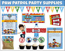 paw patrol party games ideas