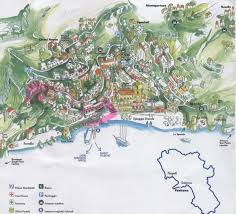 Capri Italy Map by Map