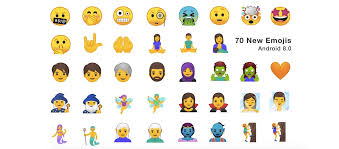 new android emojis android 8 0 gets new and additional emojis android community