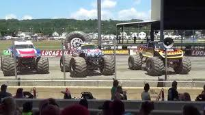 bigfoot monster truck schedule monster trucks pt1 bloomsburg 7 11 15 truckin jamboree youtube