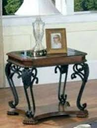 wrought iron end tables end tables designs rod iron end tables black rectangular interior