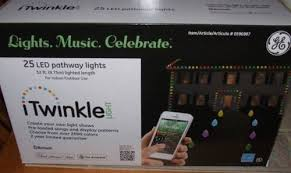 ge itwinkle led color changing lights bulbs pathway christmas