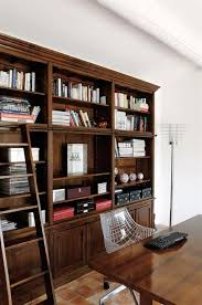 biblioth ue avec bureau bureau tout confort avec meuble bibliothèque en bois massif