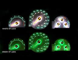 change dash cluster gauges color in saab