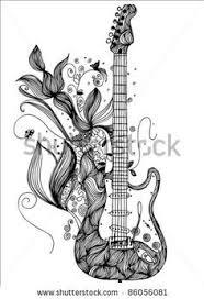 Bass Guitar Tattoo Ideas 24 Great Guitar Tattoo Designs Simple Guitar Tattoo Designs For