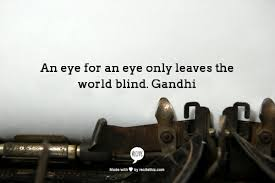 gandhi a writer and his thoughts meaning in