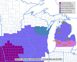 Map Of Bay City Michigan by Time Frame Of Freezing Rain Advisory In Michigan Mlive Com