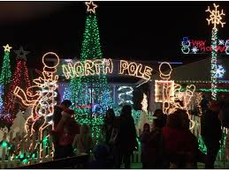 where are the best holiday lights in davis and nearby davis ca