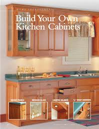 how to build build kitchen cabinets free plans pdf plans for how