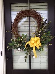 master u0027s golf tournament themed wreath please note i have not