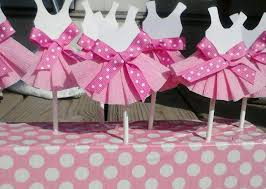 baby shower ideas girl pink paper dress baby shower favor ideas for baby shower