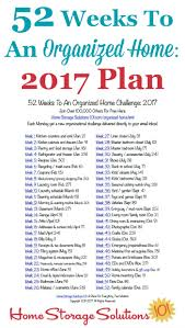 52 weeks to an organized home join the weekly challenges free